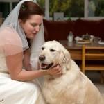 Evy met bruid